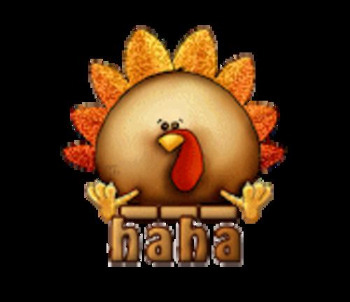 haha - ThanksgivingCuteTurkey