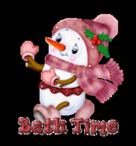 Bath Time - CuteSnowman