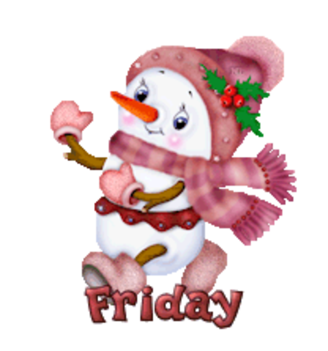 DOTW Friday - CuteSnowman