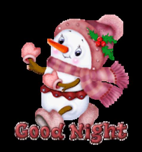 Good Night - CuteSnowman