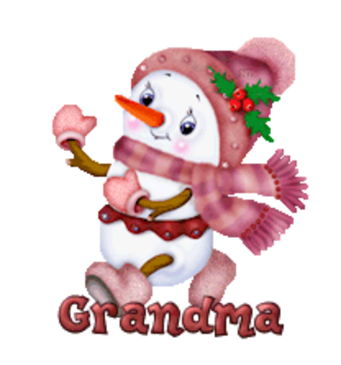 Grandma - CuteSnowman