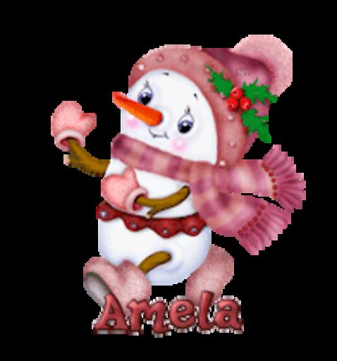 Amela - CuteSnowman