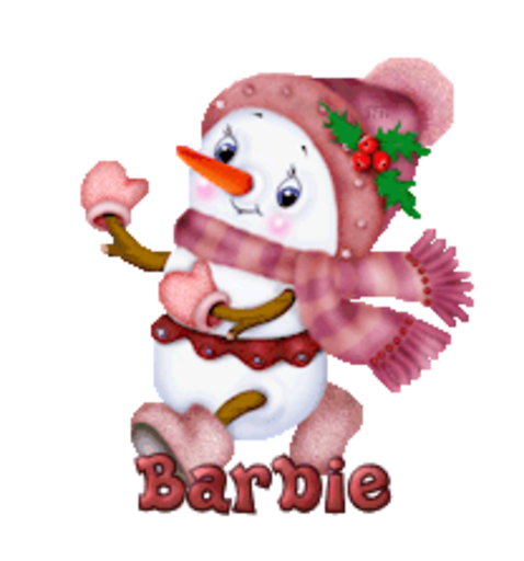 Barbie - CuteSnowman