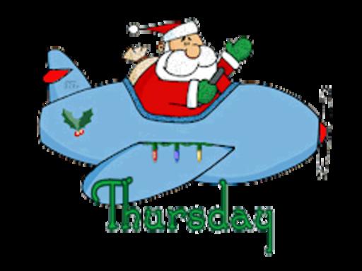 DOTW Thursday - SantaPlane