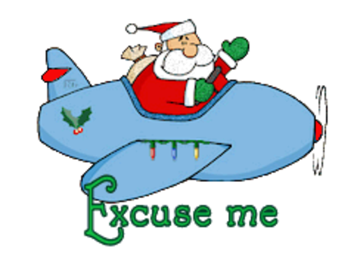 Excuse me - SantaPlane