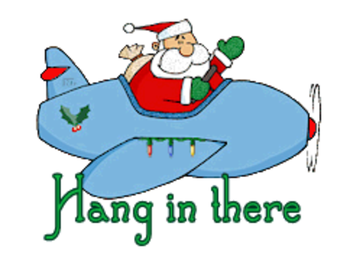 Hang in there - SantaPlane