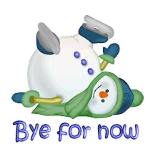 Bye for now - CuteSnowman1318