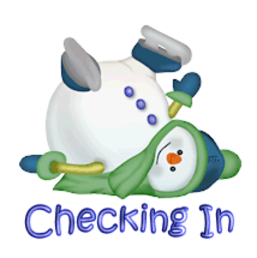 Checking In - CuteSnowman1318