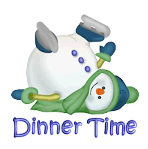 Dinner Time - CuteSnowman1318