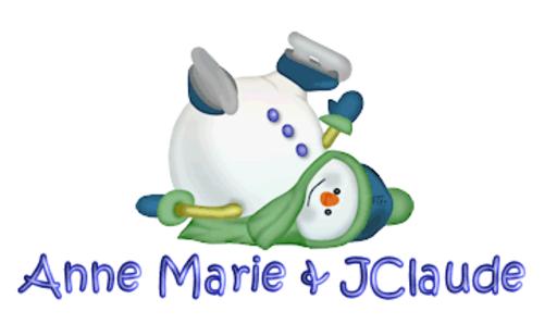 Anne Marie & JClaude - CuteSnowman1318