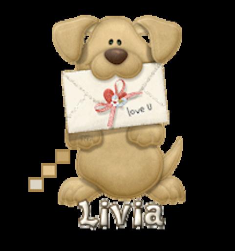 Livia - PuppyLoveULetter