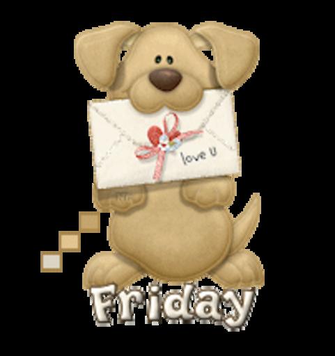 DOTW Friday - PuppyLoveULetter