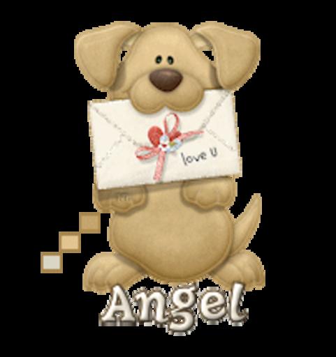 Angel - PuppyLoveULetter