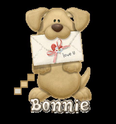 Bonnie - PuppyLoveULetter