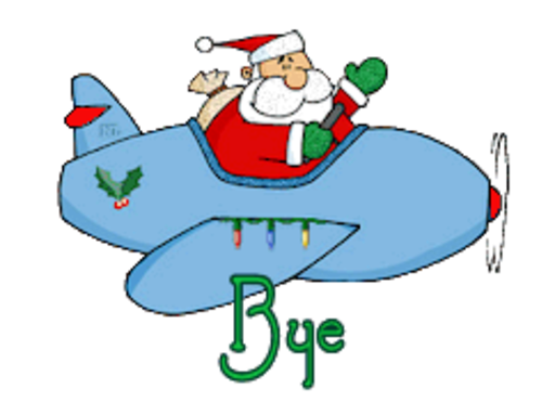 Bye - SantaPlane