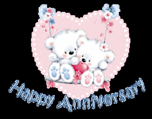 Happy Anniversary - ValentineBearsCouple