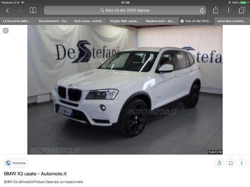 2010 BMW X3 xDrive20d Eletta
