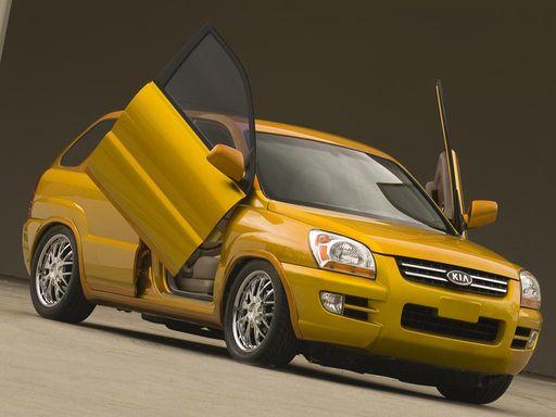 2005 Kia Sportage Solid Gold