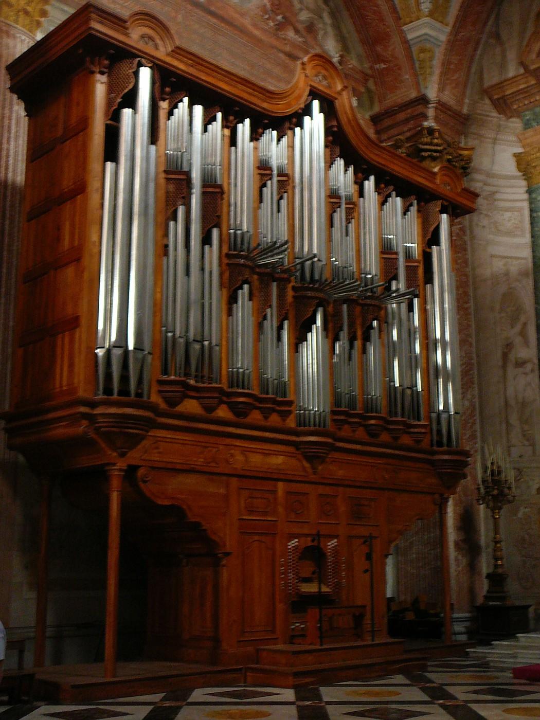 Huge Organ in Santa MariaDegli Angeli
