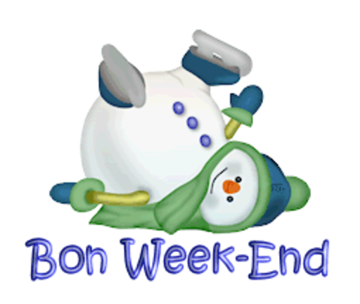 Bon Week-End - CuteSnowman1318