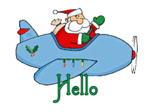 Hello - SantaPlane