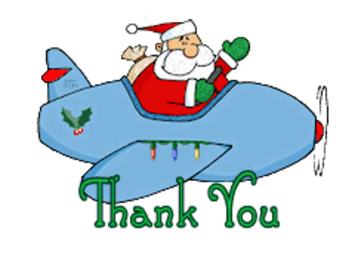 Thank You - SantaPlane