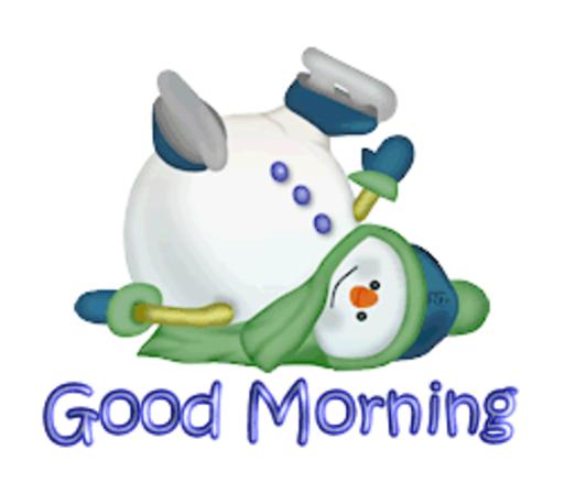 Good Morning - CuteSnowman1318