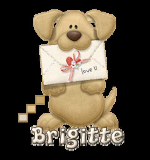 Brigitte - PuppyLoveULetter
