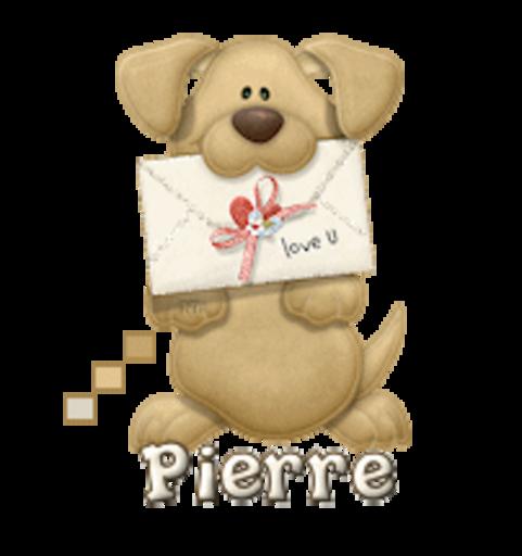 Pierre - PuppyLoveULetter