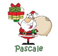 Pascale - SantaDeliveringGifts