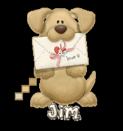 Jim - PuppyLoveULetter