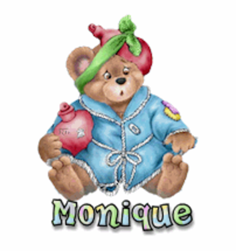 Monique - BearGetWellSoon