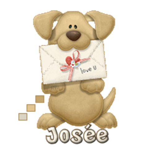 Josee - PuppyLoveULetter