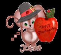 Josee - ThanksgivingMouse