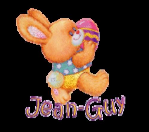 Jean-Guy - EasterBunnyWithEgg16