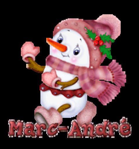 Marc-Andre - CuteSnowman