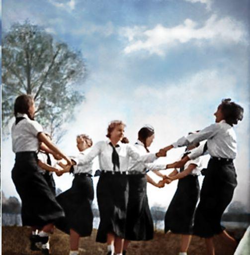 National Socialist Women Dancing