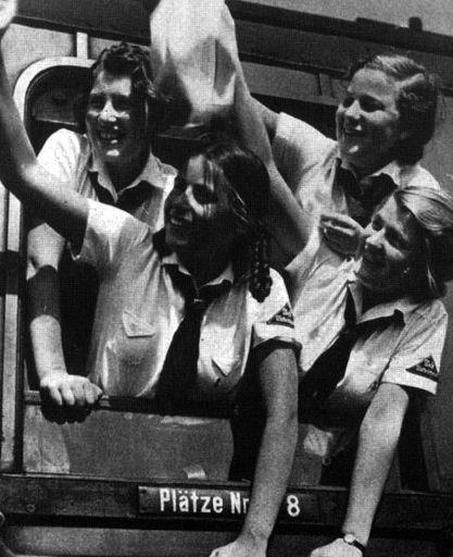 BDM girls on train