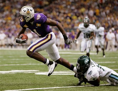 LSU Tulane Football