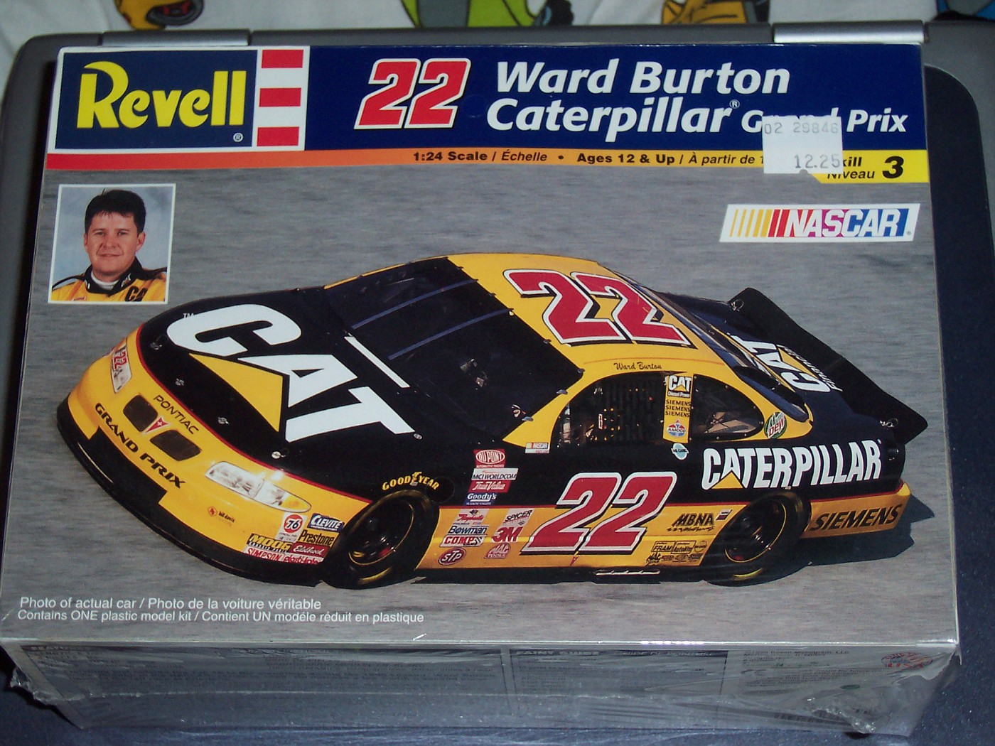 1999 Ward Burton Caterpillar Pontiac Grand Prix