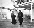 Titanic's 'A' Deck Strollers At Queenstown