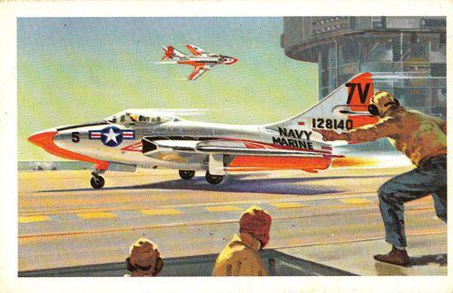 1961 Revell Development of Naval Flight #14 (1)