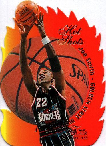 Error 1996-97 Flair Showcase Hot Hands #18 (1)