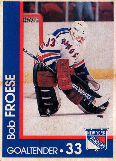 1989-90 Marine Midland New York Rangers #33 (1)