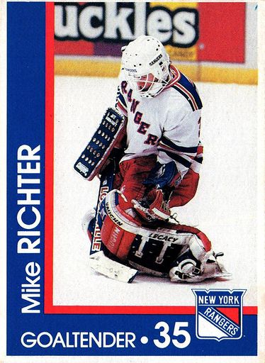 1989-90 Marine Midland New York Rangers #35 (1)