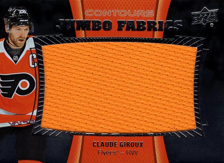 2015-16 Upper Deck Contours Jumbo Fabrics Claude Giroux (1)