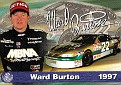 Action 1997 Ward Burton Gold