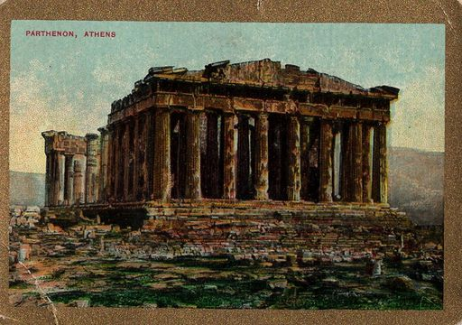 1911 ATC Pan Handle Sights & Scenes of the World The Parthenon (1)