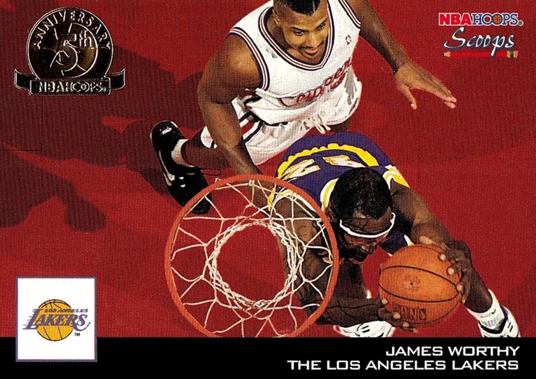 1993-94 Hoops Hoops Scoops 5th Anniversary #HS13 (1)