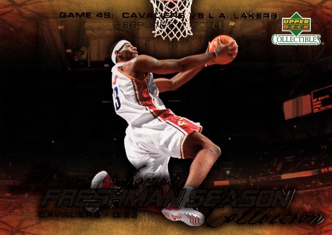 2004 LeBron James Freshman Season #49 (1)